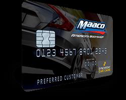Maaco: Credit Card