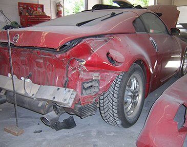 350z before restoration