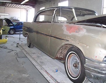 56 starchief before restoration