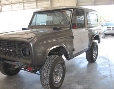 68 bronco before restoration