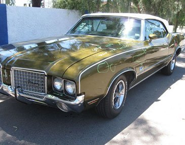 72 olds before restoration