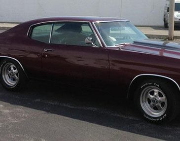 chevelle after restoration