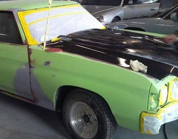 chevelle before restoration
