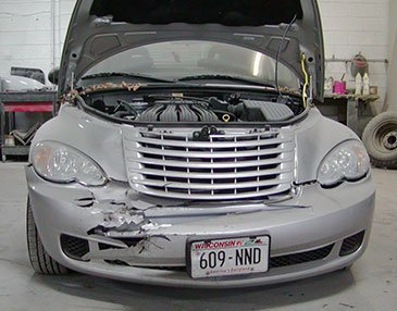ptcruiser before restoration