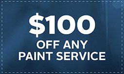 $100 Off Any Paint Service Coupon