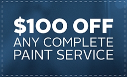$100 Off Any Complete Paint Service Coupon