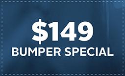$149 Bumper Special Coupon
