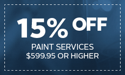 15% off Paint Services Coupon