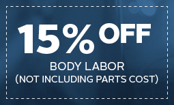 15% Off Body Labor Coupon