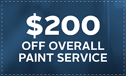 $200 Off Overall Paint Service Coupon