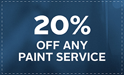 20% Off Any Paint Service Coupon