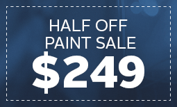 Limited Time Only, Half Off Paint Sale: $249 Coupon
