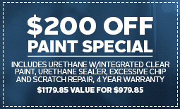 $200 Off Paint Special Coupon