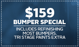 $159 Bumper Special Coupon