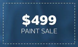 $499 Paint Sale - Tax Season Coupon