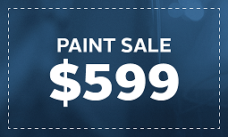 Limited Time Only, Paint Sale: $599 Coupon