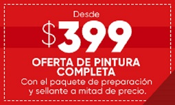 $399 Overall Paint Sale - Spanish Coupon