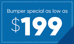 $199 Bumper Repair Coupon
