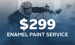 $299 Enamel Paint Service Special Coupon