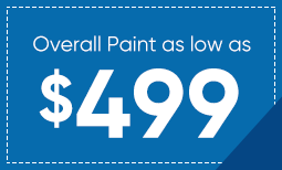 $499 Overall Paint Special Coupon