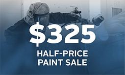 $325 Half-Price Paint Sale Coupon