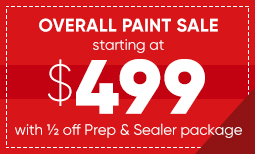 $499 Overall Paint Sale Coupon