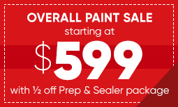$599 Overall Paint Sale Coupon