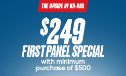 Fall Promo: $249 First Panel Special Coupon
