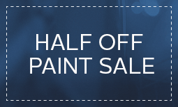 Limited Time Only, Half Off Paint Sale Coupon