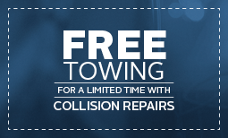 Free Tow on Collision Repair Coupon