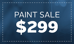 Limited Time Only, Paint Sale: $299 Coupon
