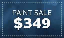Limited Time Only, Paint Sale: $349 Coupon