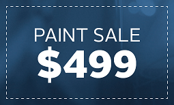 Limited Time Only, Paint Sale: $499 Coupon