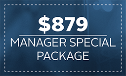 Manager Special: $879 Coupon