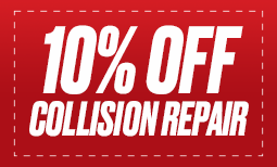 10% Off Collision Repairs Coupon