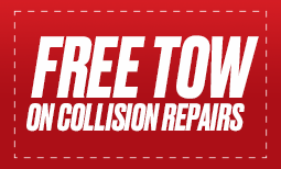 Free Tow on Collision Repairs Coupon