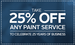 25% Off for 25 Years Coupon
