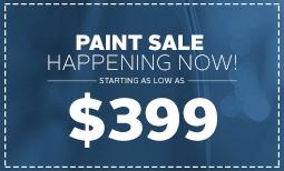 $399 Paint Sale Coupon