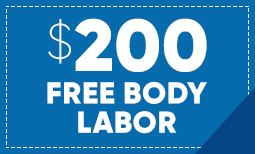 $200 Free Body Labor Coupon