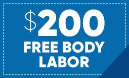 $200 Free Body Labor Coupon