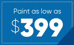 $399 Summer Paint Sale Coupon