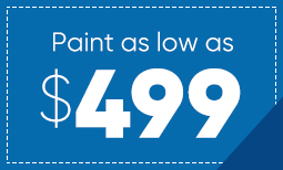 $499 Summer Paint Sale Coupon