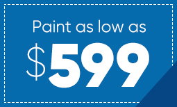 $599 Summer Paint Sale Coupon