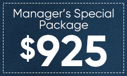 Manager Special: $925 Coupon