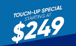 $249 Touch-Up Special Coupon