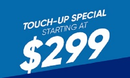 $299 Touch-Up Special Coupon