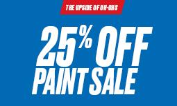Summer Paint Sale: 25% Off Paint Sale Coupon