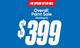 Summer Paint Sale: $399 Overall Paint Sale Coupon