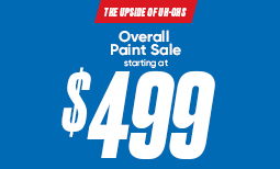 Summer Paint Sale: $499 Overall Paint Sale Coupon