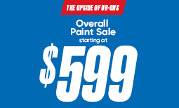 Summer Paint Sale: $599 Overall Paint Sale Coupon